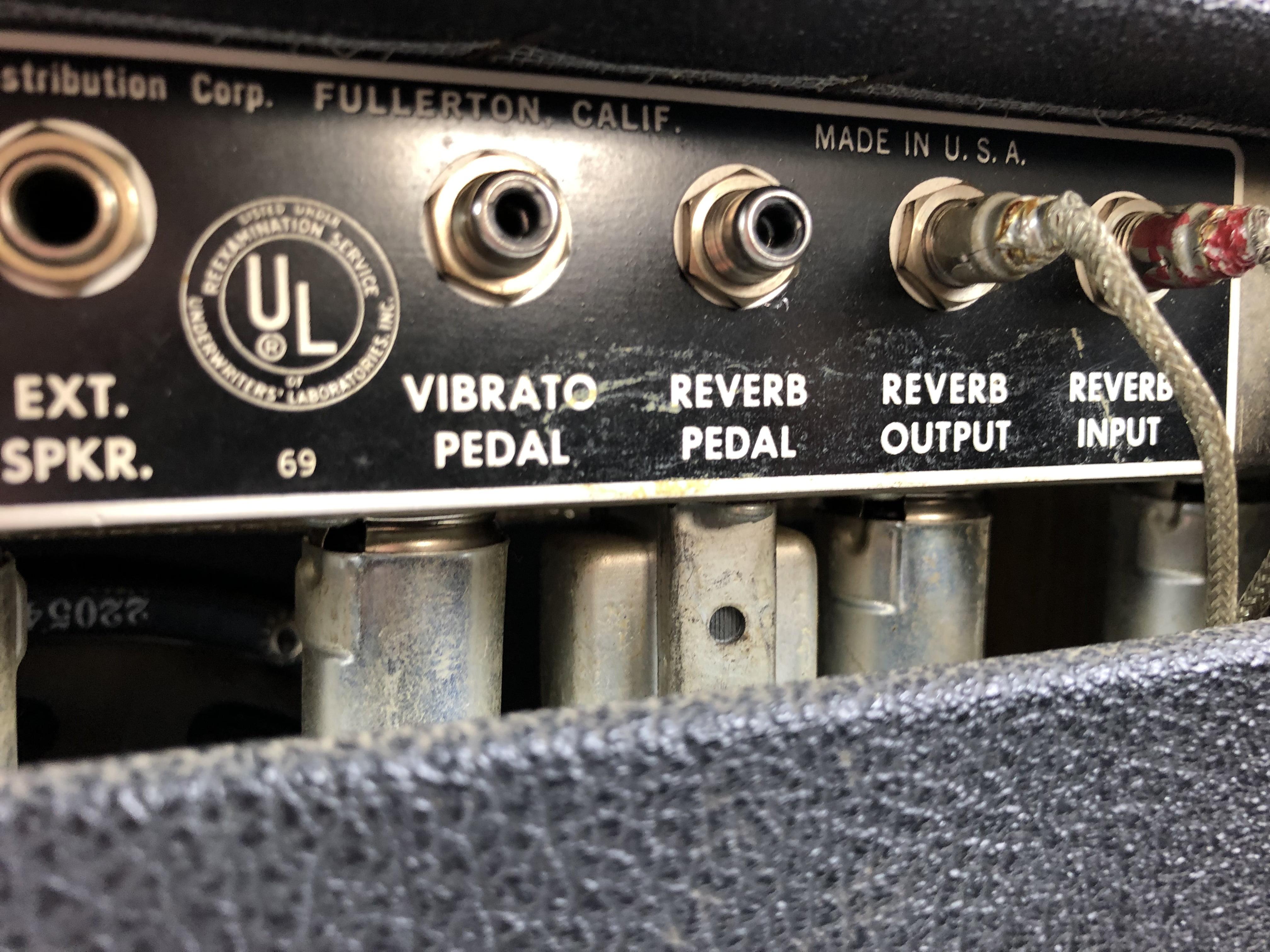 Original 1966 Fender Princeton Reverb (Blackface) AA764